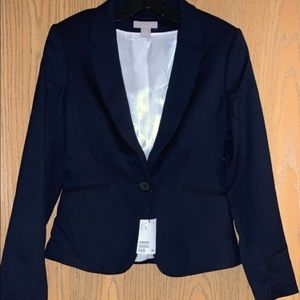 Women's navy blue blazer